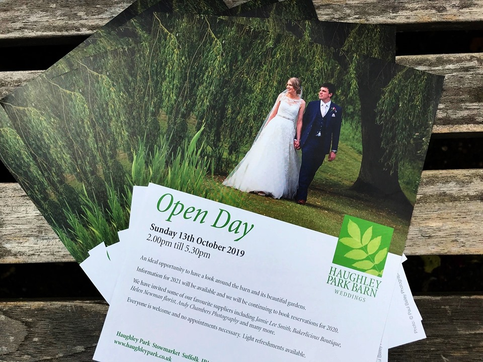 Suffolk wedding venue announces October Open Day