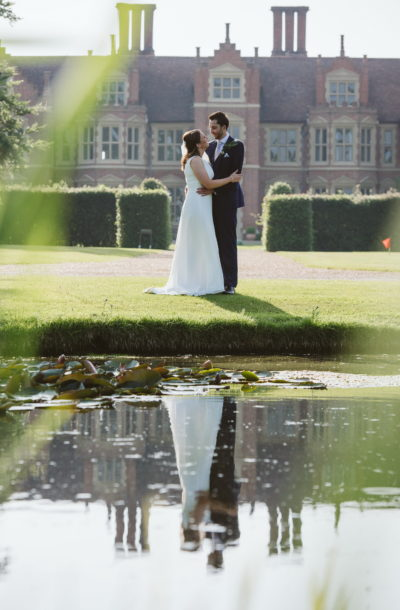 Wedding photography - Suffolk wedding venue - Jacobean manor house