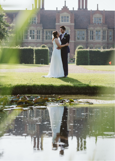 Jacobean manor house Suffolk - wedding photography