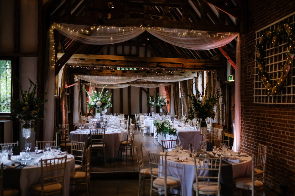 Suffolk wedding venue - wedding breakfast - weddingdecor