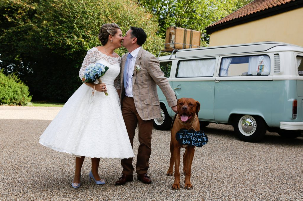 Dog friendly wedding venue in Suffolk