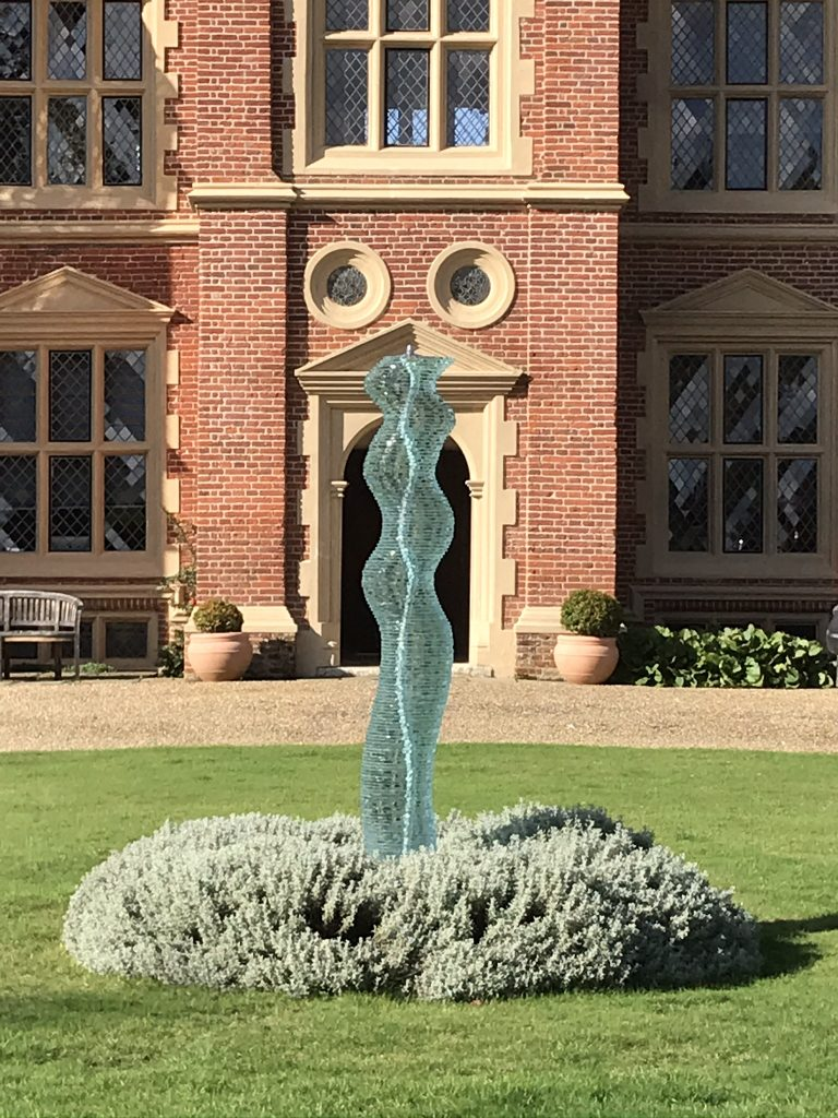 Danny Lane sculpture at Haughley Park