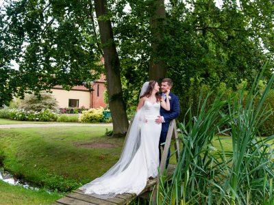 Wedding photography at Haughley Park