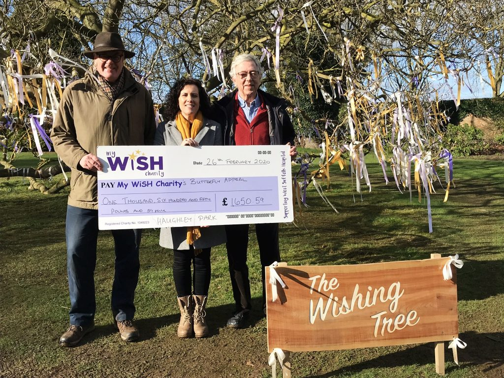 Wishes raise nearly £1,700 for charity