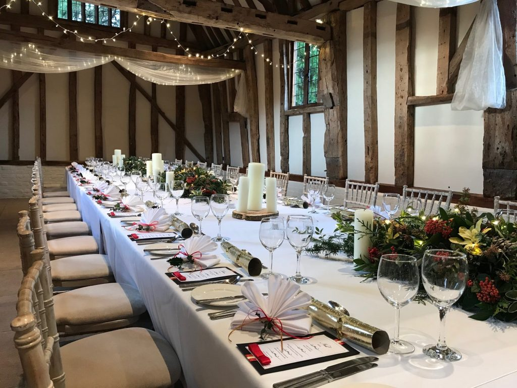 Suffolk Christmas dinner venue